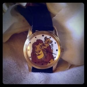 Vintage Retired Timex Lion King Watch